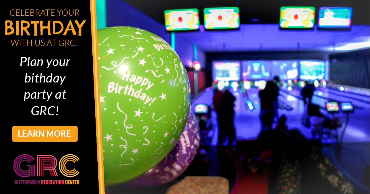 Birthdays at GRC!